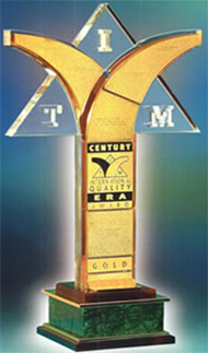 premio CENTURY INTERNATIONAL QUALITY ERA AWARD